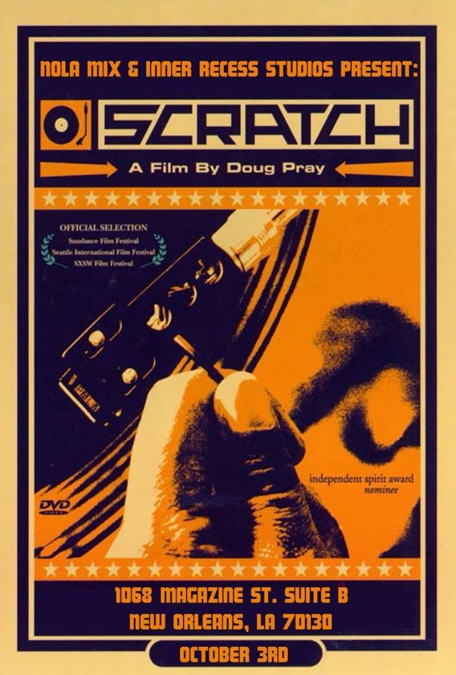Scratch screening flyer