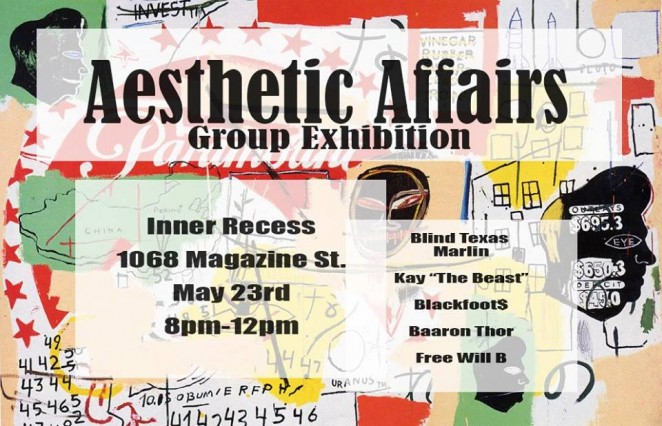Aesthetic Affairs Flyer